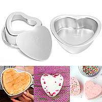 Ремесло Металлическая ванна Бомба Формовочная ванна Fizzy Сердце Форма DIY Металлические формы