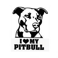 Водонепроницаемы Pitbull Авто Наклейки Авто грузовой автомобиль мотоцикл Декаль
