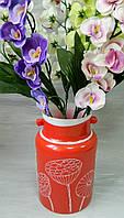 Скляна ваа Корал № 332 Стеклянная ваза Корал