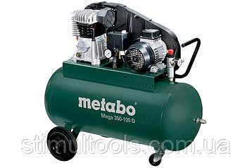 Компрессор ременной Metabo Mega 350-100 D (380 в)