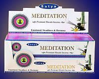 Благовония Медитация Сатья (Premium masala incense Meditation Satya) 15 гр