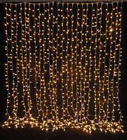 Гирлянда новогодняя LED сетка штора 2х2м