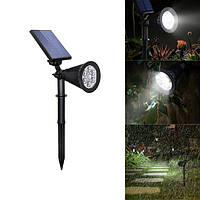 4W Солнечная 6 LED PIR Motion Датчик Flood Light На открытом воздухе Пейзаж Лампа для газонного двора Сад