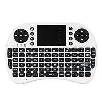 IPazzport Мини-2.4G Испанский макет Беспроводной Клавиатура Тачпад Мышь для Android ТВ-планшета