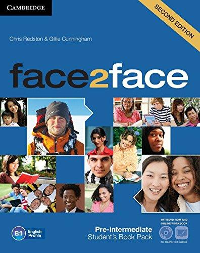 Face2face 2nd Edition Pre-Intermediate SB + DVD-ROM + Online Workbook