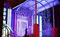 Гирлянда уличная светодиодная (LED) водопад 2х2 м
