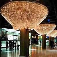 Гирлянда штора (сетка) светодиодная: для ёлочки, комнаты, и наружного украшения дома