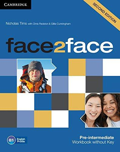 Face2face 2nd Edition Pre-Intermediate WB - key