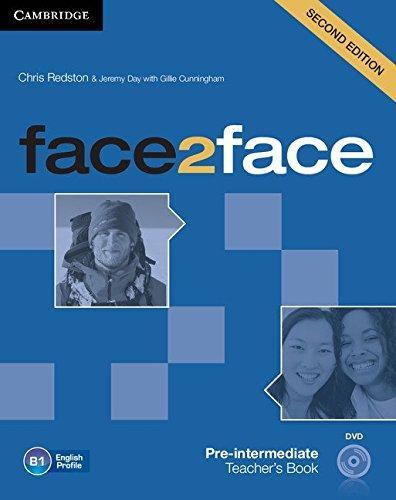 Face2face 2nd Edition Pre-IntermediateTB + DVD-ROM