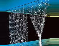 Разноцветная гирлянда Дождь 400 LED 2х2 метра