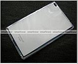 Силиконовый чехол для планшета Lenovo tab 4 8 TB-8504X противоударный полупрозрачный, фото 2