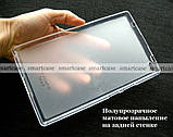 Силиконовый чехол для планшета Lenovo tab 4 8 TB-8504X противоударный полупрозрачный, фото 3
