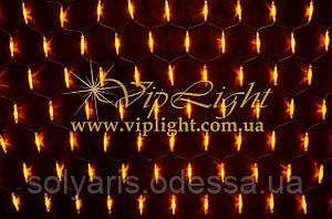Новогодняя гирлянда (2,5-1,25м) сетка NET LIGHT LED-D-SNLR-S-420-240V