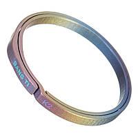 BANG TI K2 32-мм цветное титановое ключевое кольцо Ногти Сохранение гибкого брелка