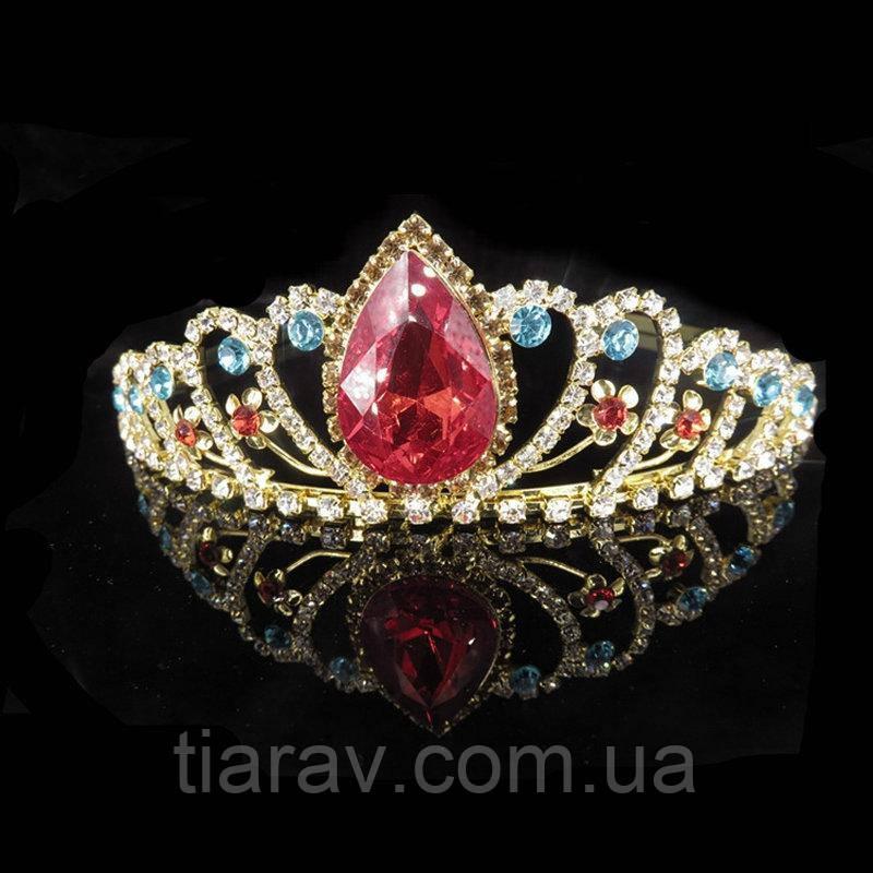 Корона Тіара На голову ДОННА діадема з камінням