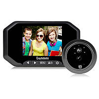 DANMINI YB-30AHD 3.5 дюймов Цифровой зрительный дверной звонок Peephole камера Запись видео