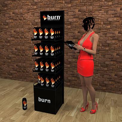 Стойка burn для жб банок