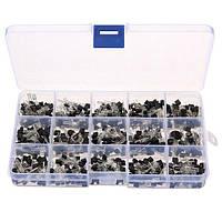 Geekcreit® 3 x 600 штук 15 видов значений Транзистор TO-92 NPN PNP Набор Комплект 30-160 В 50-1000 мА NPN/PNP