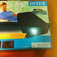 Надувная кровать Intex со встроенным электронасосом(191 x 99), фото 1