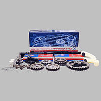 Комплект ремонтный привода ГРМ (полный) с башмаками (двухрядные цепи 70х90мм) для двиг. ЗМЗ-406, 405, 409
