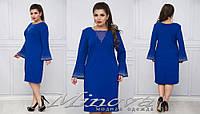 Платье со стразами 52-58