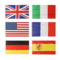 Honana HG-DF1 Садоводство 3x5 Foot Nylon Национальные флаги На открытом воздухе Полиэфирные флаги Садоводческий декор