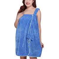 Honana BX-R974 Коралловое руно поглощает халат Уютный микрофибра Женское Юбка Ванна Полотенце Банный халат