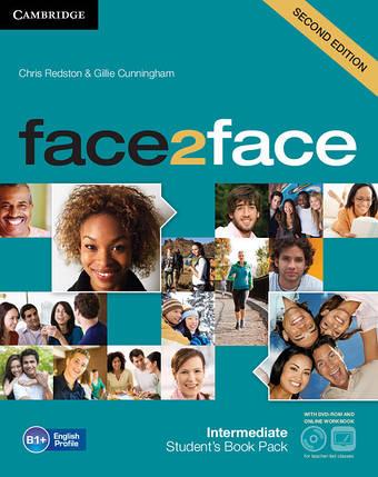 Face2face 2nd Edition Intermediate SB + DVD-ROM + Online Workbook, фото 2