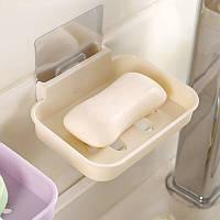 Honana BX-084 Ванная комната Мыло Посудомоечная машина для губки Конфеты цветная Волшебный Наклейка водопада Мыло Блюдо
