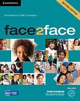 Face2face 2nd Edition Intermediate SB + DVD-ROM