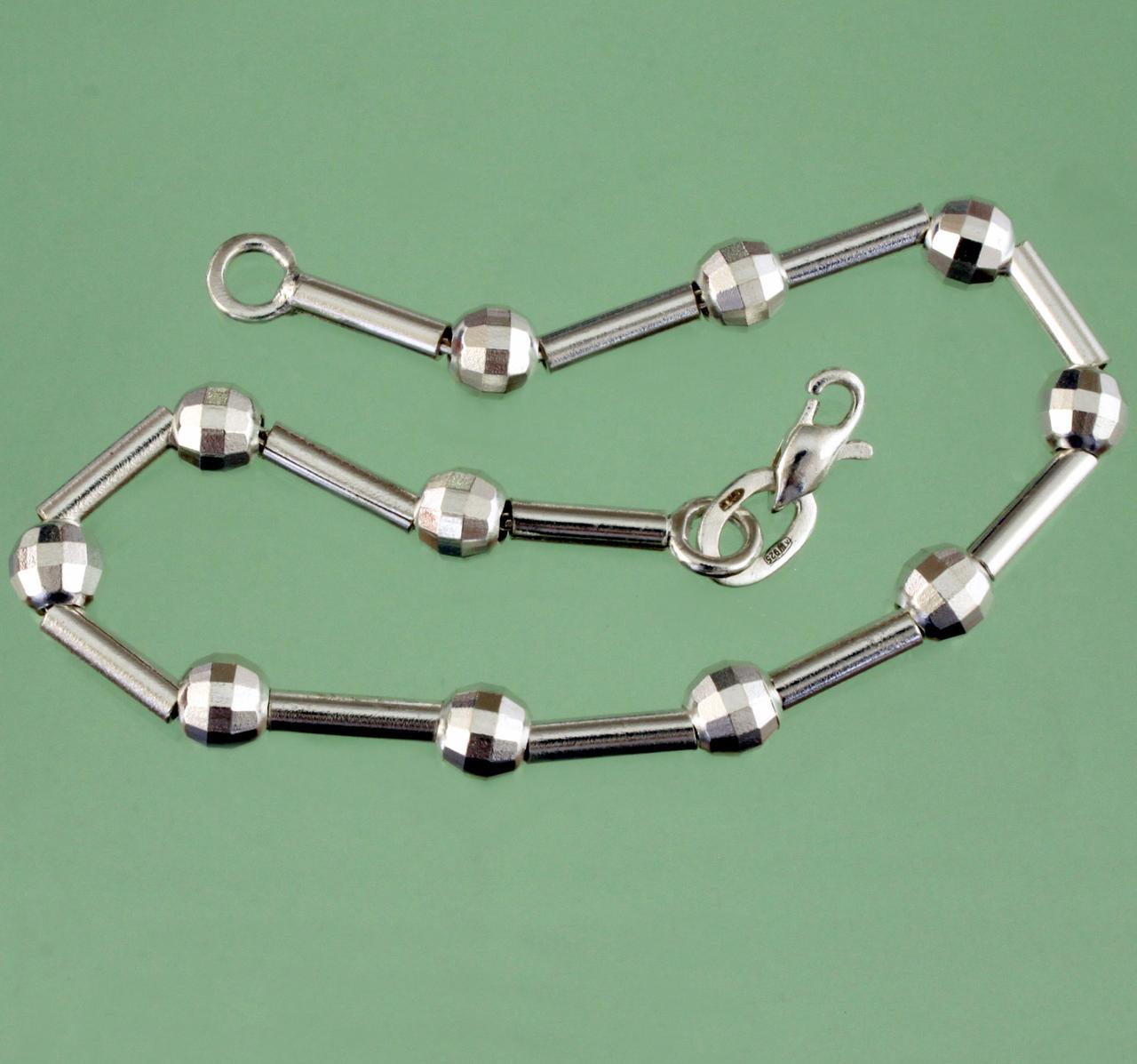 Срібний браслет без вставок ручної роботи - Державне підприємство
