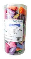"""Трусики-стринги """"COLORFUL"""" микс в пластиковом тубусе, размер S/M, L/XL, 50 шт."""