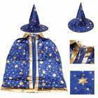 Маскарадный костюм Волшебник синий
