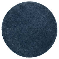 IKEA ADUM Ковер с длинным ворсом, темно-синий  (403.450.57)