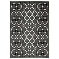 IKEA HOVSLUND Ковер с коротким ворсом, темно-серый  (603.074.79)