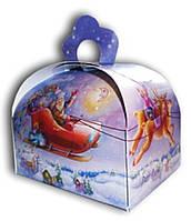 Подарочная новогодняя упаковка Сундучок, 100г