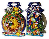 Подарочная новогодняя упаковка Новогодние часы 500 кг