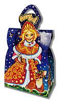 Подарочная новогодняя упаковка Снегурочка 300-450 кг