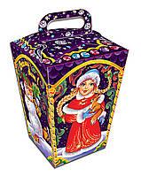 Подарочная новогодняя упаковка Фонарик фиолет 500 кг
