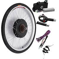 Bikight 48V 500W 26Inch Электрические комплекты модификации велосипеда Вождение Мотор Комплекты велосипедов для задних колес