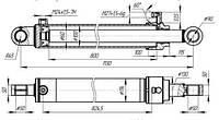 Гидроцилиндр ПЭ-Ф-1А; ПЭ-Ф-1БМ (100х60х800х22)