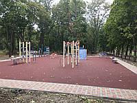 Бесшовное покрытие для спортивной площадки Color