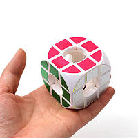 КвадратнаядугаПолаяТри-Заказать Cube Тревога Уход за стрессом Fidget Toys Focus Взрослые Внимание Игрушки