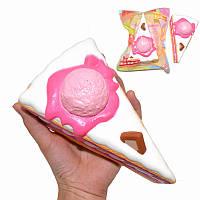 Kiibru Squishy Ice Cream Slice 15.5cm Slow Rising Original Packaging Collection Подарочная игрушка