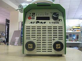Сварочный инвертор АТОМ I-180D без кабелей со штекерами