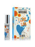 Мини парфюм Moschino Cheap & Chic I Love Love 40 мл в подарочной упаковке (для женщин)