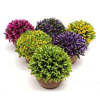 Красочные искусственные топические шары растительного дерева горшок Сад офис дома внутренних декора цветок