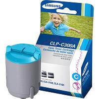 Заправка картриджа Samsung CLP-C300A cyan для принтера Samsung CLX-3160FN, CLX-2160N, CLP-300