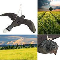 Flying Bird Hawk Owl Decoy Weed Pest Control Repellent Сад Scarer Scarecrow