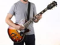 Классический ремень для гитары с регулируемой пряжкой, нейлон+кожзам